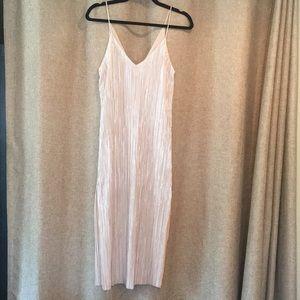 Zara Metallic Midi Dress